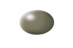 36362: hedvábná šedavě zelená (greyish green silk) - Aqua