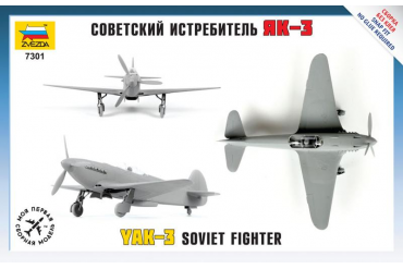 Snap Kit letadlo 7301 - Yak-3 Soviet Fighter (1:72)