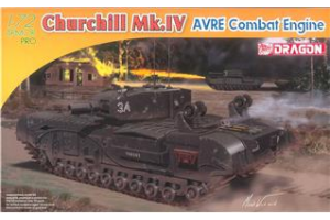 Churchill Mk.IV AVRE Combat Engine (1:72) - 7521