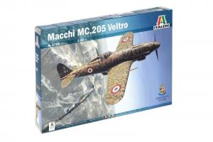 Model Kit letadlo 2765 - Macchi MC.205 Veltro (1:48)