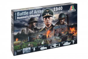 Model Kit diorama 6118 - WWII BATTLESET - Battle of Arras 1940 - Rommel's Offensive (1:72)