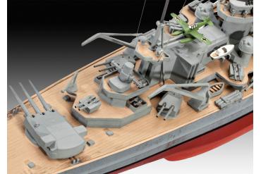 Plastic ModelKit loď 05037 - Scharnhorst (1:570)