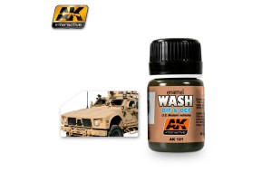 Oil & Oef - US Vehicles Wash - AK121
