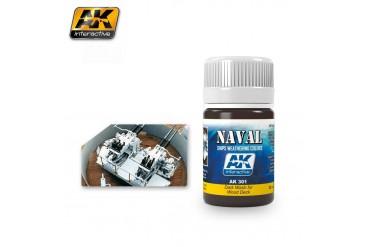 Dark Wash For Wood Deck - AK301