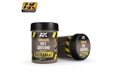 Terrains Wet Ground 250ml - AK8016