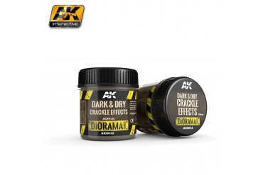 Dark &  Light Crackle Effects 100ml - AK8032