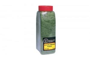 Tmavá zelená tráva (Flock Dark Green Shaker) - FL636
