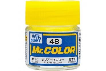Mr. Color - C048: Transparentní žlutá