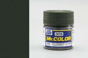 Mr. Color - C309: FS34079 zelená