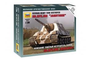 Wargames - Sd.Kfz.186 Jagdtiger Heavy Tank Destroyer (1:100) - 6206