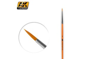 ROUND BRUSH 2 SYNTHETIC - AK604