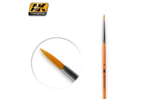 ROUND BRUSH 4 SYNTHETIC - AK605