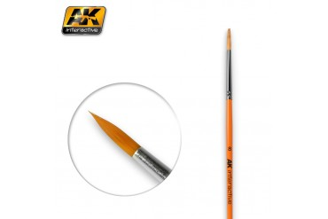 ROUND BRUSH 8 SYNTHETIC - AK607