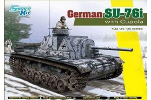 Model Kit tank 6856 - German Su-76i (1:35)