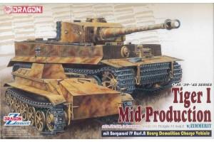 Model Kit tank 6866 - Pz.Kpfw.VI Ausf.E Tiger I Mid Production Remote Controller  mit Borgward Ausf.A Heavy Demolition Vehicle s