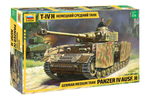 Panzer IV Ausf.H German Medium Tank (1:35) - 3620