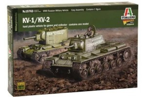 KV1 / KV2 (tank driver INCLUDED) (1:56) - 15763