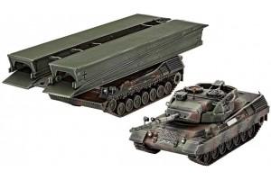 "Leopard 1A5 &  Bridgelayer ""Biber"" (1:72) - 03307"