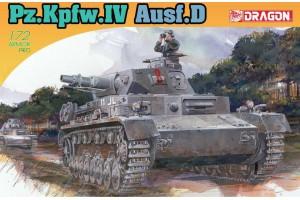 Model Kit tank 7530 - Pz.Kpfw.IV Ausf.D (1:72)