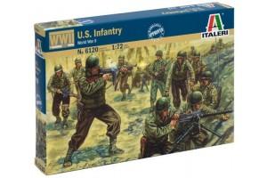 Model Kit figurky 6120 - WWII - AMERICAN INFANTRY (1:72)