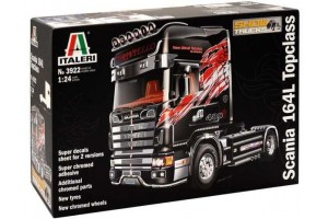 Model Kit truck 3922 - SCANIA 164 L TOPCLASS (1:24)
