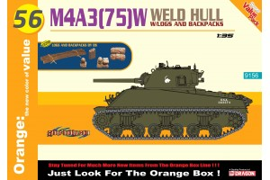 Modelkit tank 9156 - M4A3(75)W Welded Hull 1:35