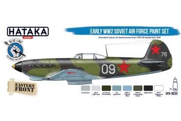 Sovětské letectvo 2. sv. války brzké období (Early WW2 Soviet Air Force) - BS33