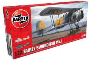 Classic Kit letadlo A04053A - Fairey Swordfish Mk.I (1:72)