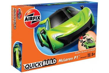 Quick Build auto J6021 - McLaren P1 - zelená