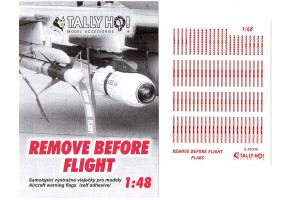 Stencils - Remove before flight (1:48) - S48009