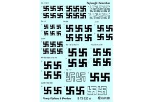 Stencils - Swastikas - heavy bombers (1:72) - S72020