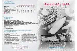 Obtisky - Avia S 99 / ME-109G - 10 (1:32) - 32011
