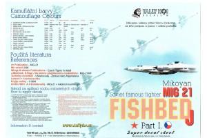 Obtisky - Mig-21 MF, SM, R (1:32) - 32003