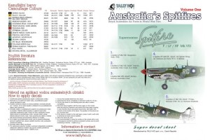 Obtisky - RAF Spitfires Mk.VIII, part 1 (1:48) - 48043