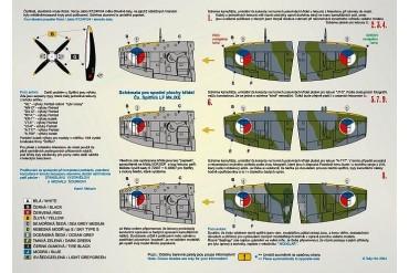 Obtisky - Cs Spitfires 1945-1952, part 1 (1:48) - 48031