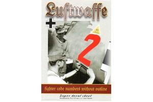 Obtisky - Luftwaffe Code numbers (1:48) - 48028