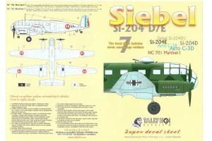 Obtisky - Siebel Si-204 D (1:48) - 48025