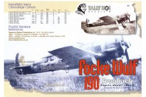 Obtisky - FW-190, F8 (1:48) - 48024