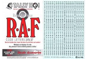 Obtisky - RAF Code letters (1:48) - 48011