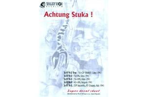 Obtisky - JU-87 Achtung Stuka! (1:48) - 48003