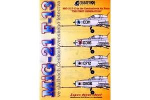 Obtisky - Mig-21 F-13 CsAF - 72038