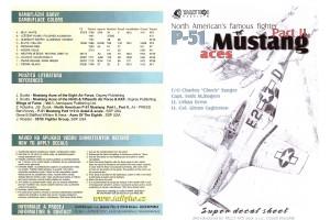 Obtisky - P-51 B, D Mustang, part 2 - 72025
