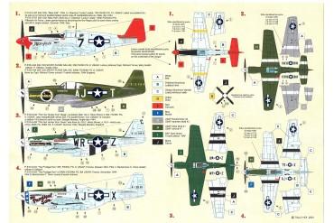 Obtisky - P-51 B, C, D Mustang, part 1 - 72022