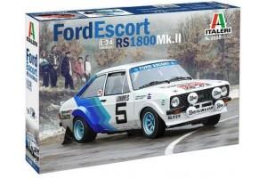 Model Kit auto 3655 - FORD ESCORT RS1800 Mk. II (1:24)
