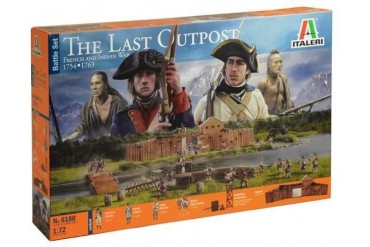 Wargames diorama 6180 - THE LAST OUTPOST 1754-1763 FRENCH AND INDIAN WAR (1:72)