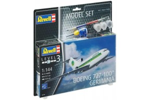 Boeing 727-100 GERMANIA (1:144) - 63946
