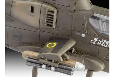 Plastic ModelKit vrtulník 04956 - Bell AH-1G Cobra (1:72)