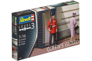 Plastic ModelKit figurka 02800 - Queen´s Guard (1:16)