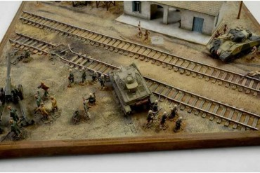 Model Kit diorama 6181 - EL ALAMEIN WAR - BATTLESET (1:72)
