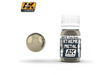 672: XTREME METAL PALE BRASS